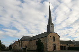 The church of Les Brulais