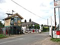 Level crossing on Station Road - geograph.org.uk - 1412112.jpg