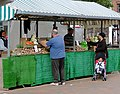 Lewis's vegetables in Wolverhampton Market - geograph.org.uk - 1522373.jpg