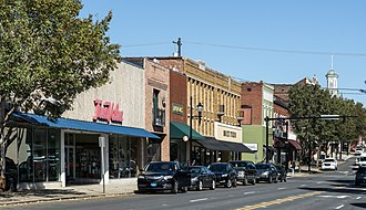 Lexington, North Carolina - South Main Street