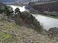 Libčice nad Vltavou, z Choče, přes jižní vrchol.jpg