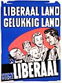 Liberale verkiezingsaffiche, 1958 - Campaign poster, Belgian Liberal Party, National elections 1958 (30533323910).jpg
