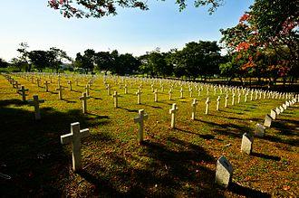 Burial of Ferdinand Marcos - The Heroes' Cemetery where the remains of Ferdinand Marcos were buried.