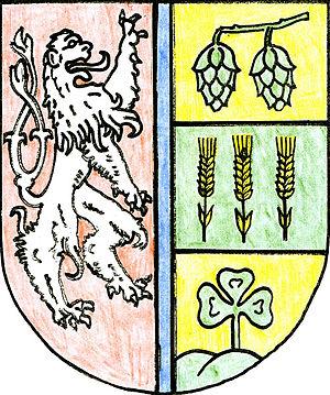 Libořice - Image: Libořice znak