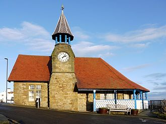 Volunteer Life Brigade - Cullercoats Watch House (built 1875); now houses a community centre and exhibition space.