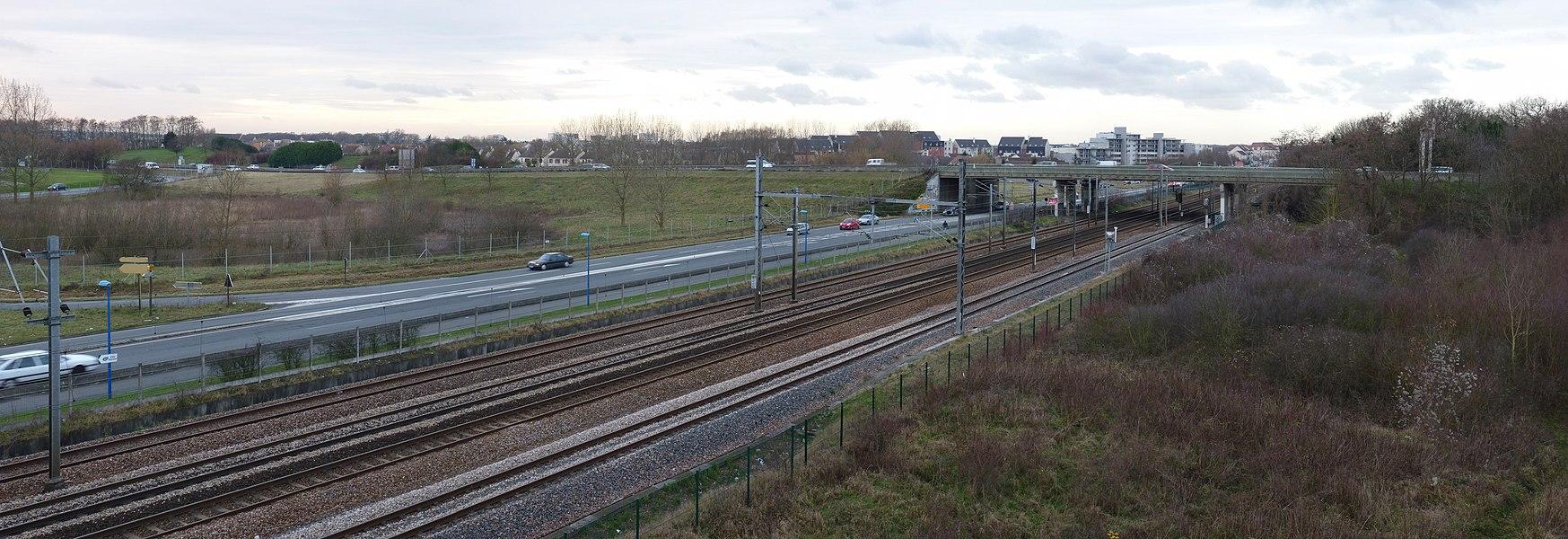 Ligne Paris - Mulhouse, D 361, N 104