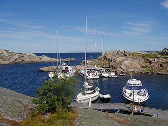 Stockholm archipelago - Image: Lilla Nassa