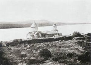 Adır Island - The Monastery from North-East