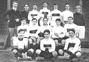 Lima Cricket and Football Club - The 1912 football team, Primera División champion.
