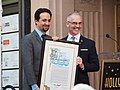 Lin-Manuel Miranda Hollywood Walk of Fame ceremony (with Los Angeles City Councilman Mitch O'Farrell) (46074098172).jpg