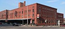 Three-to-four-story brick buildings