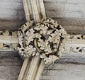 Lincoln Cathedral, Angel Choir Roof Boss, 5th from East (39663506681).jpg