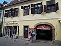 Listed Wittmann house. - 18 Dobó Street, Eger, 2016 Hungary.jpg