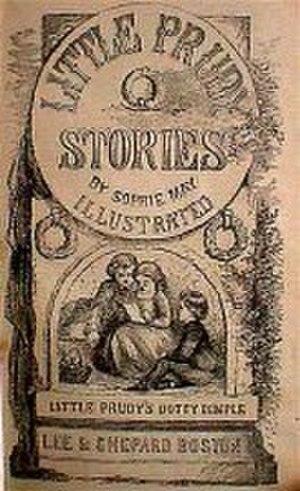 Rebecca Sophia Clarke - 1868 frontispiece from Little Prudy's Dottie Dimple (Boston: Lee & Shepard)