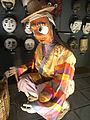 Little world, Aichi prefecture - Main exhibition hall - Masked Drama of Korean Farmers - Waraji merchant.jpg