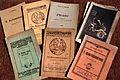 Livrets de pièces du Théâtre alsacien circa 1920.jpg