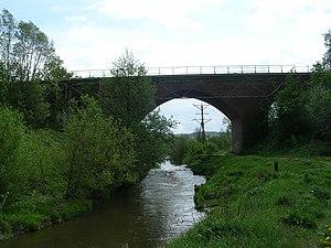 Liwa (river) - Liwa near Kwidzyn