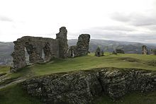 Castell Dinas Bran Car Park