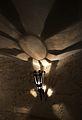 Llum del soterrani de la Llotja de València.JPG