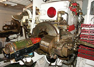 BL 6 inch Mk XXIII naval gun - Image: Loading 6 inch gun HMS Belfast Geograph 1695654 587c 3213