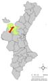Localització de Xelva respecte del País Valencià.png