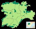 Localización - Hoces del Río Duratón.SVG