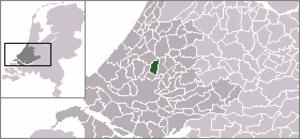 Bleiswijk - Image: Locatie Bleiswijk