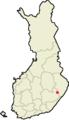Location of Savonranta in Finland.png