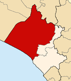 Location of the province Lambayeque in Lambayeque.png