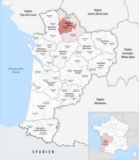 Arrondissement of Poitiers Arrondissement in Nouvelle-Aquitaine, France
