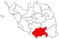 Locator map of the canton de Luçon (in Vendée).png