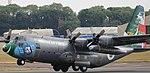Lockheed C-130E Hercules 5D4 1041 (41982576650).jpg
