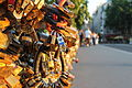 Locks, the Pont de l'Archevêché, Paris 11 June 2014.jpg