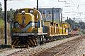 Locomotivas 1525 e 1511 na Estação de Alcácer, 2010.10.13.jpg