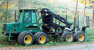 Cut-to-length logging - Forwarder