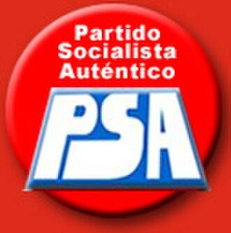 Authentic Socialist Party (Argentina) - Image: Logo psa