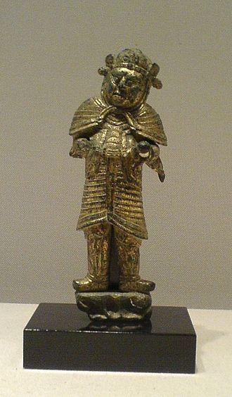 Lokapala - The Korean statuette of Lokapala