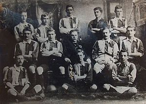 Lomas Athletic Club - Lomas football team in 1893, which won its first championship that year.