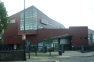 Longley Park Sixth Form College - Image: Longley Park 6th Form College