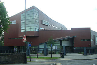 Longley Park Sixth Form College Academy in Sheffield, South Yorkshire, England