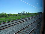 Looking out the left window on a trip from Union to Pearson, 2015 06 06 A (424) (18454157578).jpg