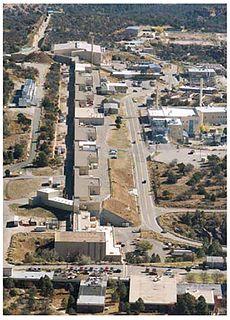 Los Alamos Neutron Science Center linear accelerator in Los Alamos, New Mexico