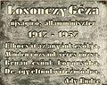 Losonczy Géza emléktáblája Kossuth tér 11.JPG