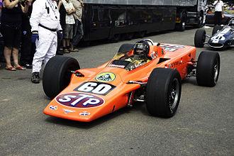 Lotus 56 - Lotus 56 on a Demonstration run.