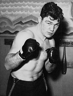 Lou Brouillard Canadian boxer