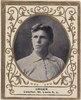 Lou Criger, St. Louis Browns, baseball card portrait LCCN2007683794.tif