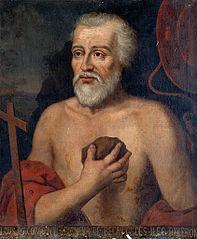 Portrait de Louis de Cambout en saint Jérôme