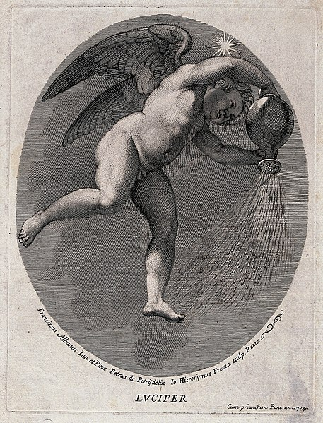File:Lucifer (the morning star). Engraving by G.H. Frezza, 1704, Wellcome V0035916.jpg