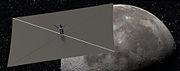 Lunar Flashlight satellite