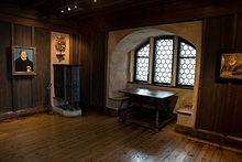 Lutherzimmer in der Veste Coburg (Quelle: Wikimedia)